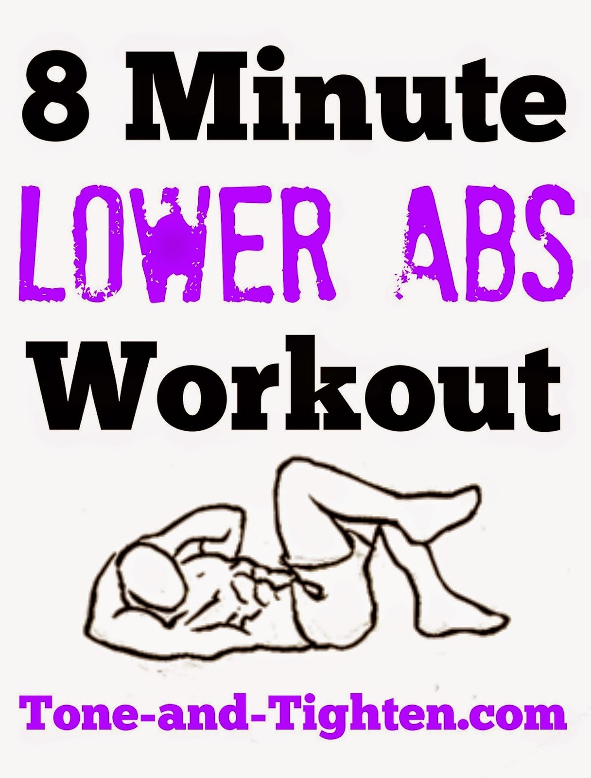8 Minute Lower Ab Workout