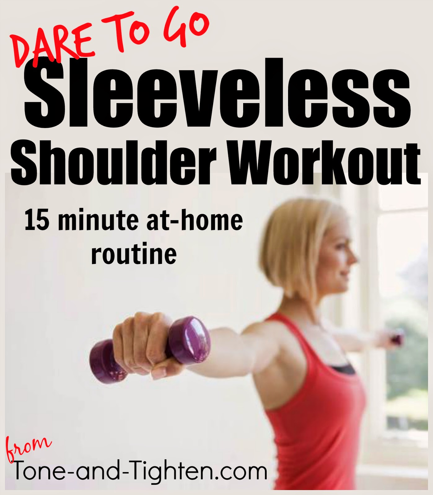 Sleeveless Shoulder Workout 15 Minute At Home Arm