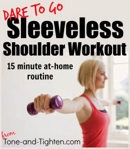 At Home Arm Workout Plan