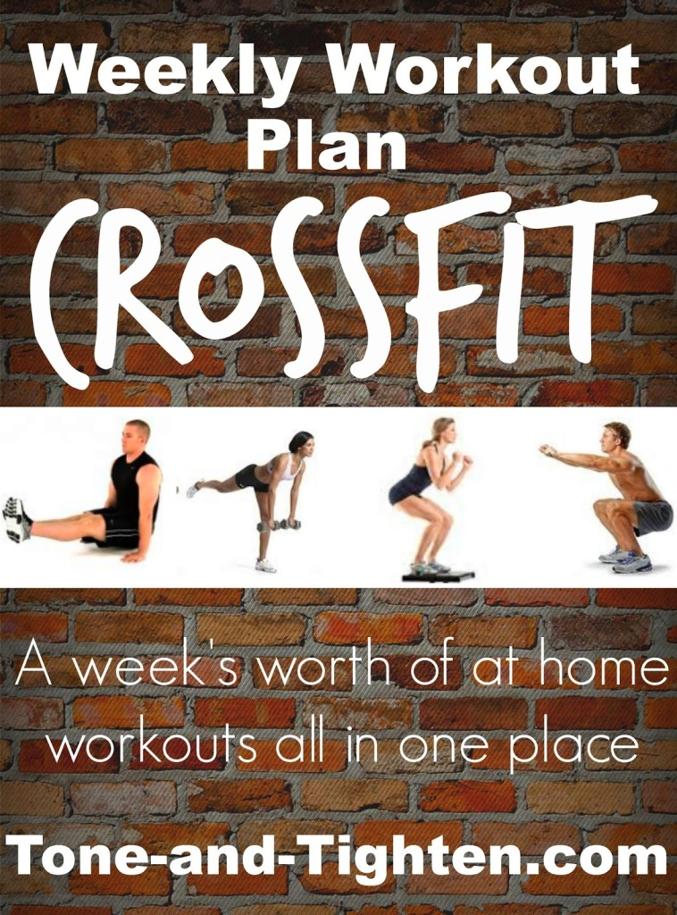 758 x 1024 jpeg 276kB, Weekly Workout Plan- At-Home Crossfit Inspired ...
