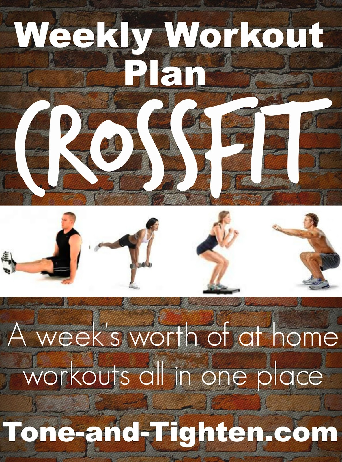 how to plan weekly workouts