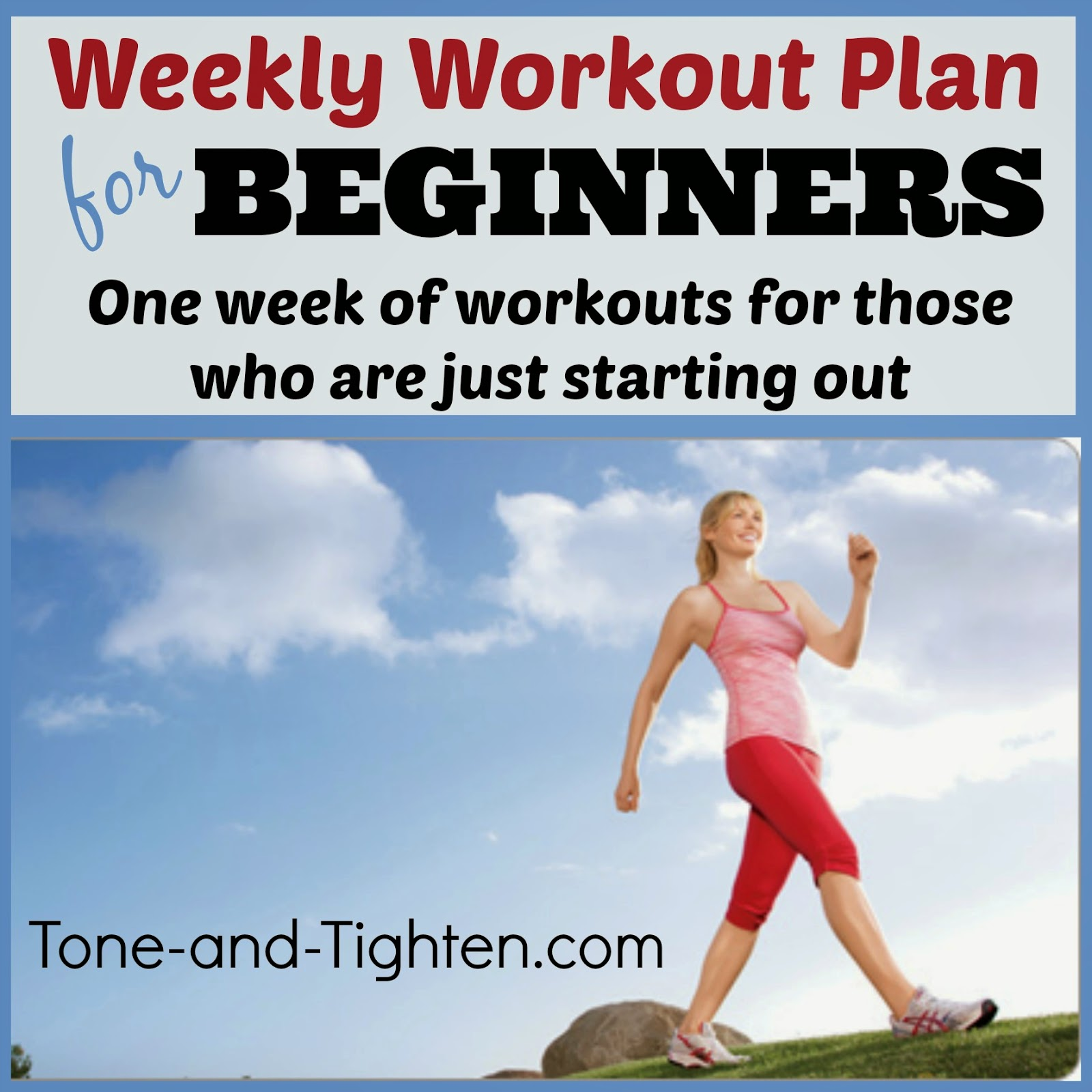 how to plan your workout week