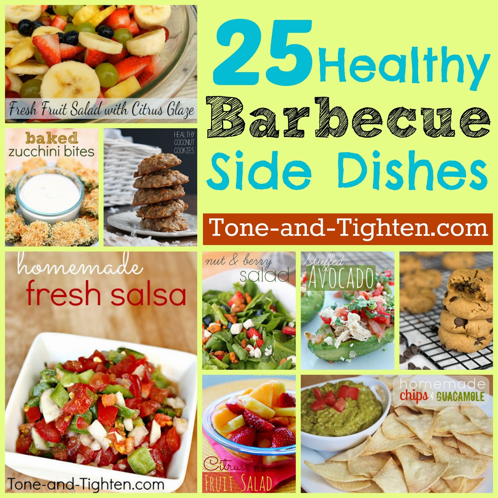 25 Healthy Summer BBQ Side Dishes
