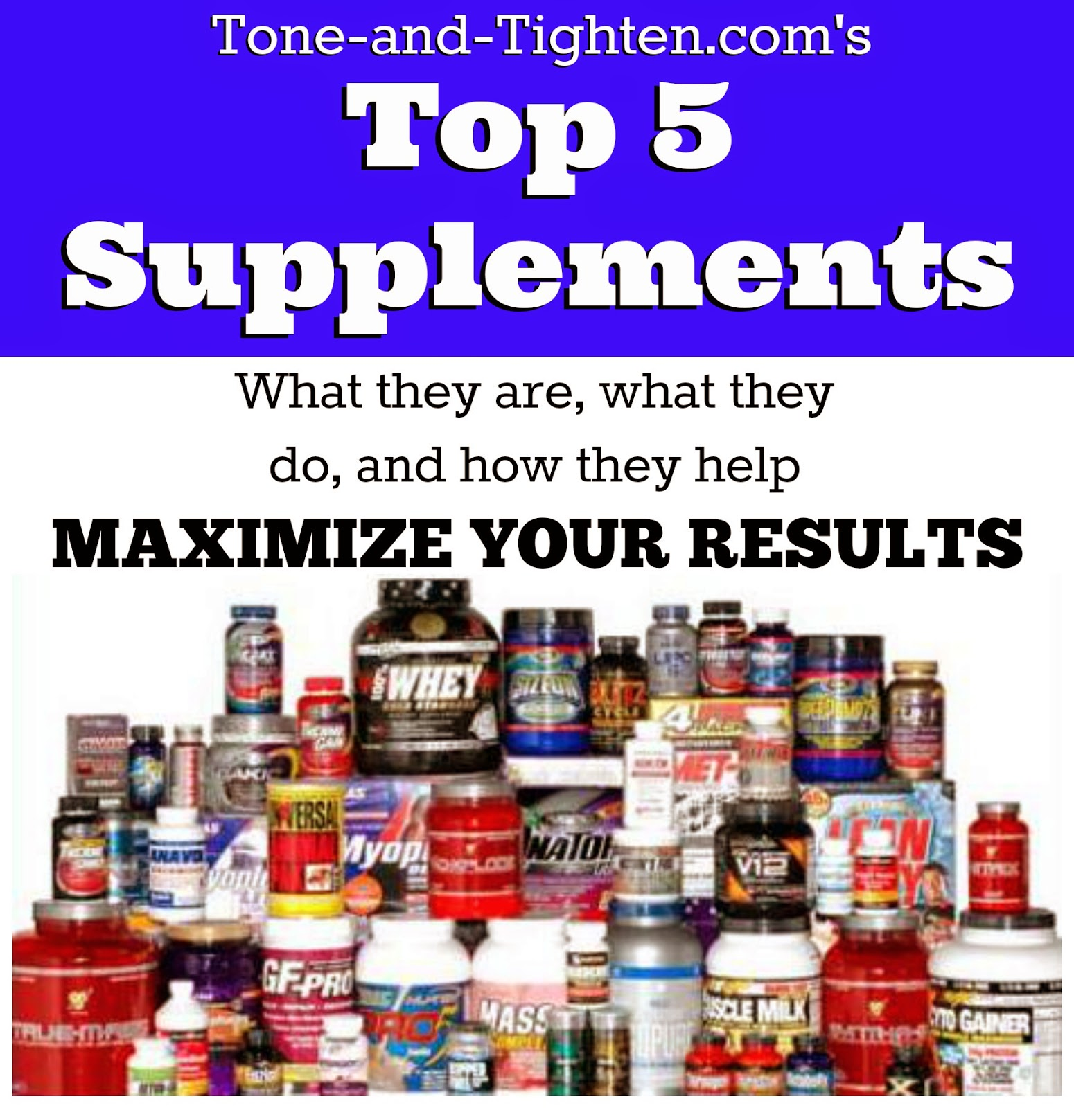With So Many Workout Supplements Out There How Do I Know Which One S Should Be Taking