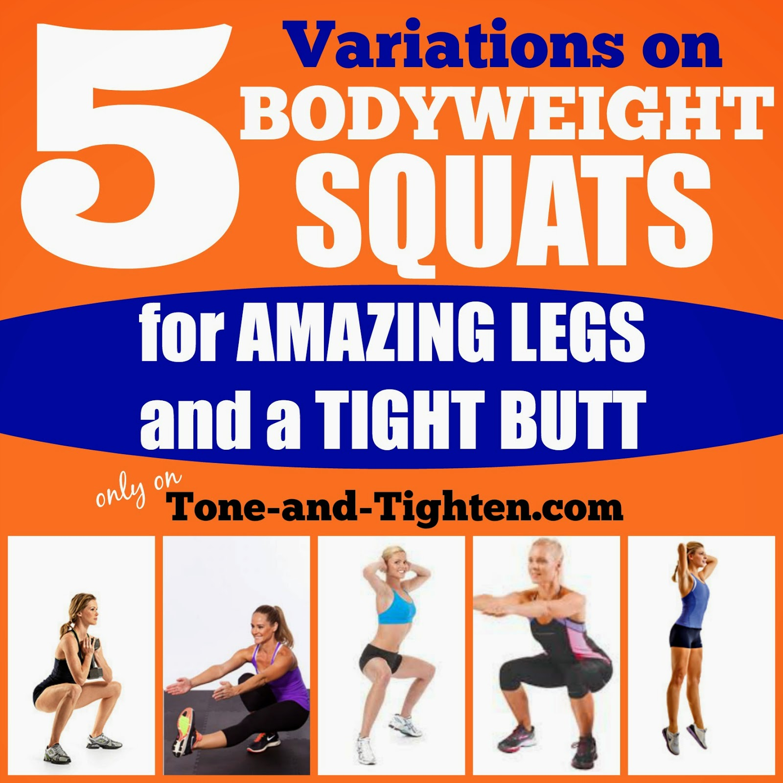 5 Squat variations you need to be doing for toned and ...