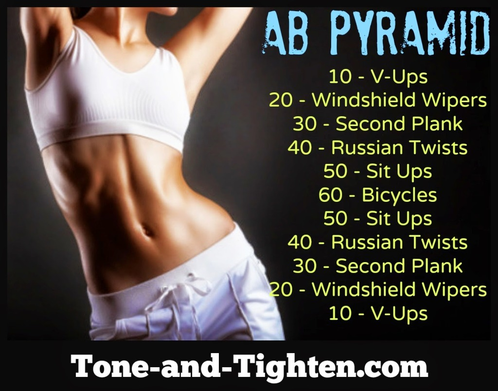 Butt Pyramid Workout Tone And Tighten