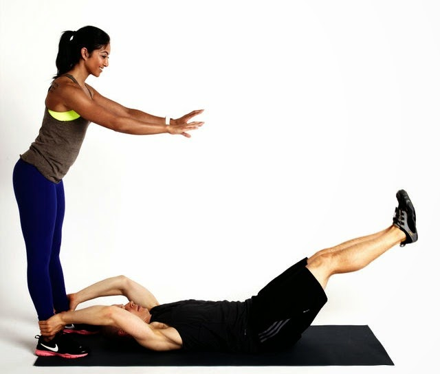 Best workout for you and a friend! Exercise partner ...