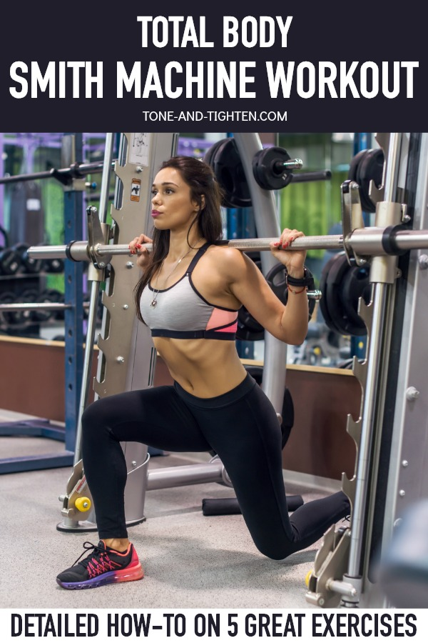How to use a Smith machine - 5 great exercises in one great workout!