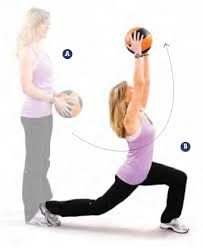 lunge and press