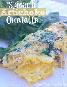 spinach-artichoke-omelette
