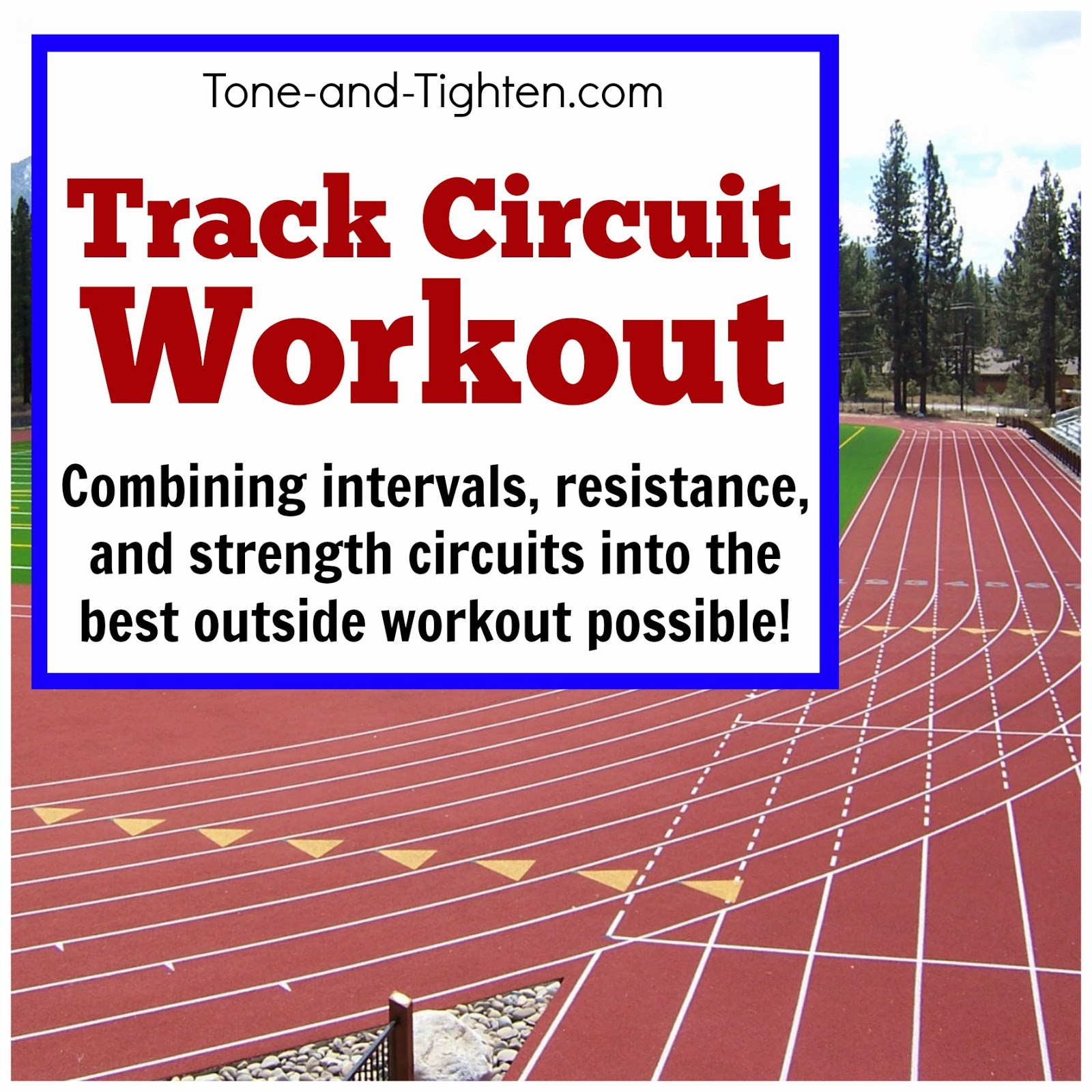For Your Next Workout Head Down To The Local Track
