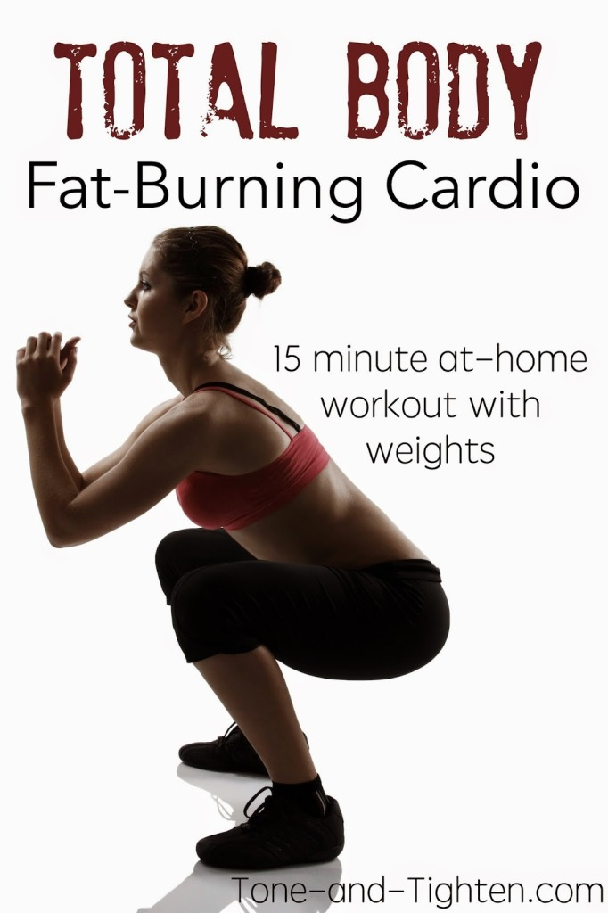 15 Minute Insane Fat-Burning Cardio Workout (Intermediate ...