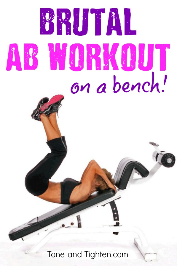 Ab Workout On Bench Best Bench Exercises For Your Abs Tone And