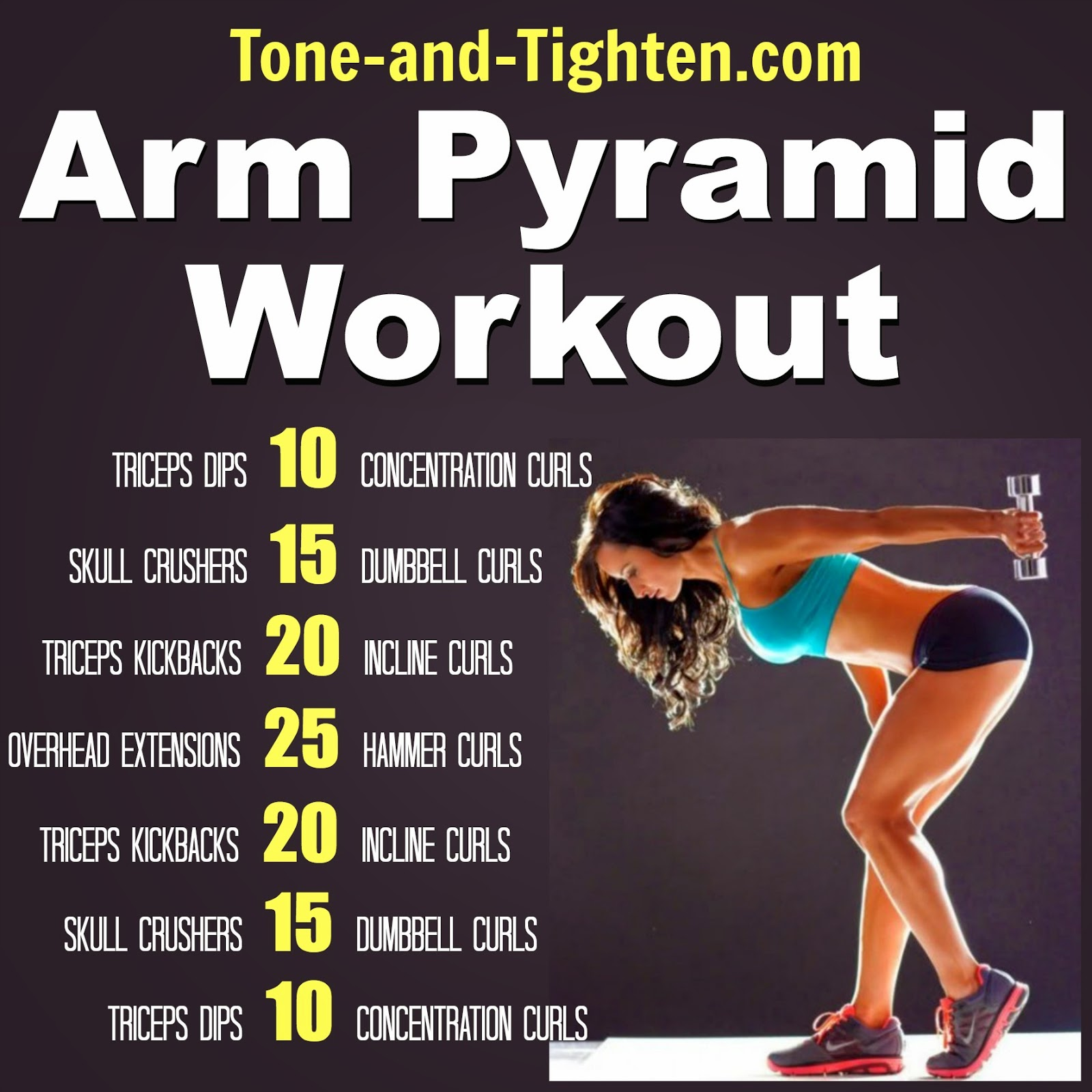 At home ab workout – Climb the Ab Pyramid today!! | Tone