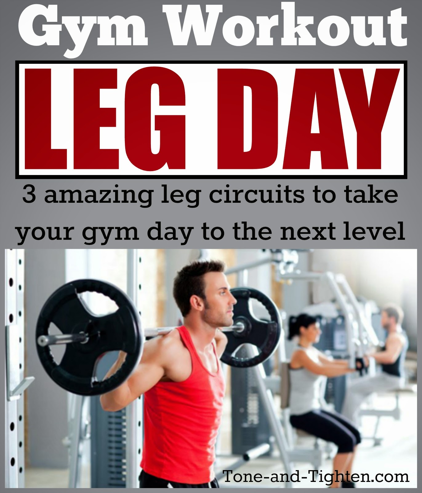 Leg Day Gym Workout