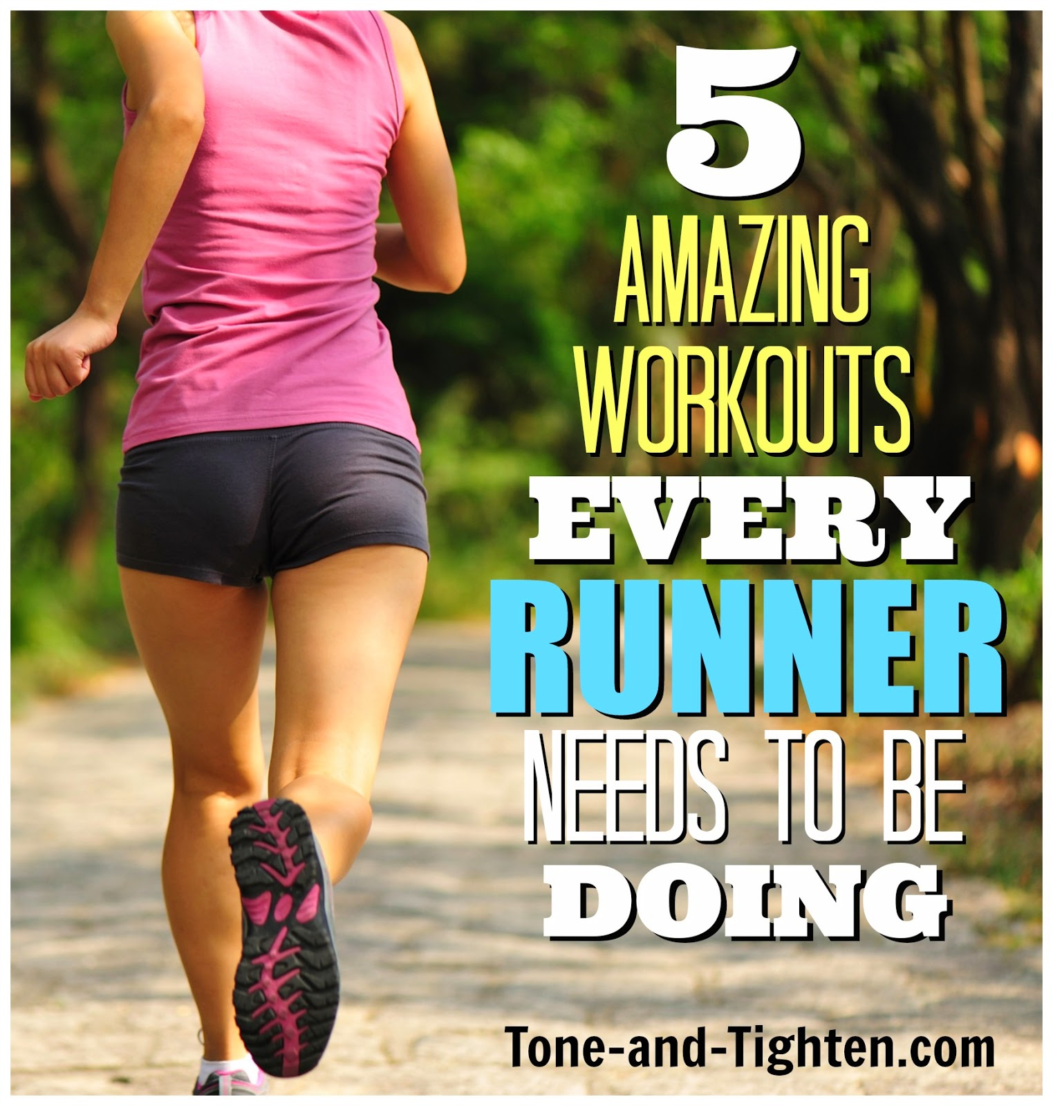 5 Of The Best Workouts For Runners Exercises Weekly Workout Plan