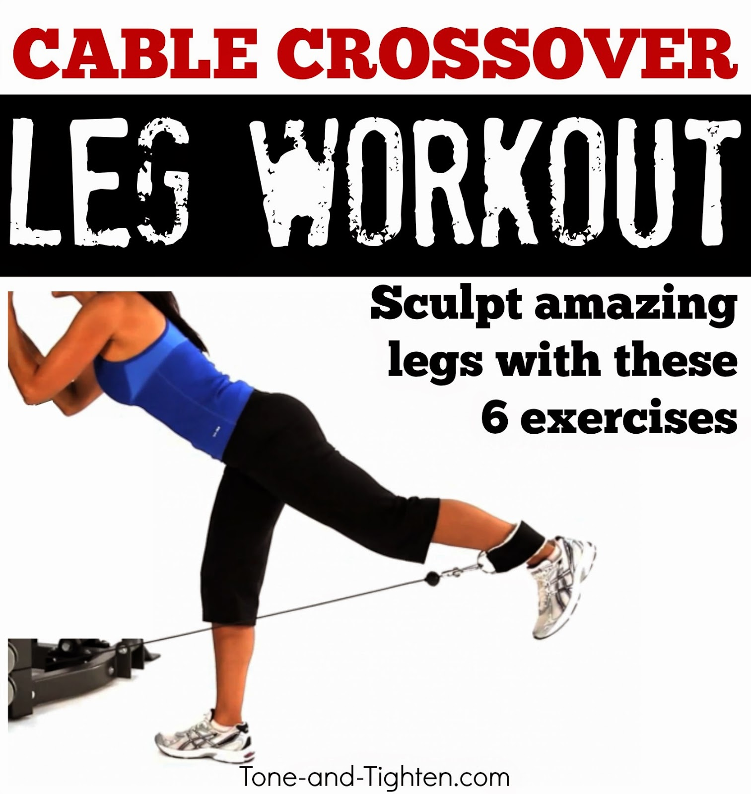 Best Lower Body Exercises On Cable Machine Leg Workout Crossover At Gym