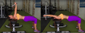 Dumbbell pullover back eexercise