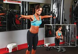 cable machine upper body workout  best crossover machine