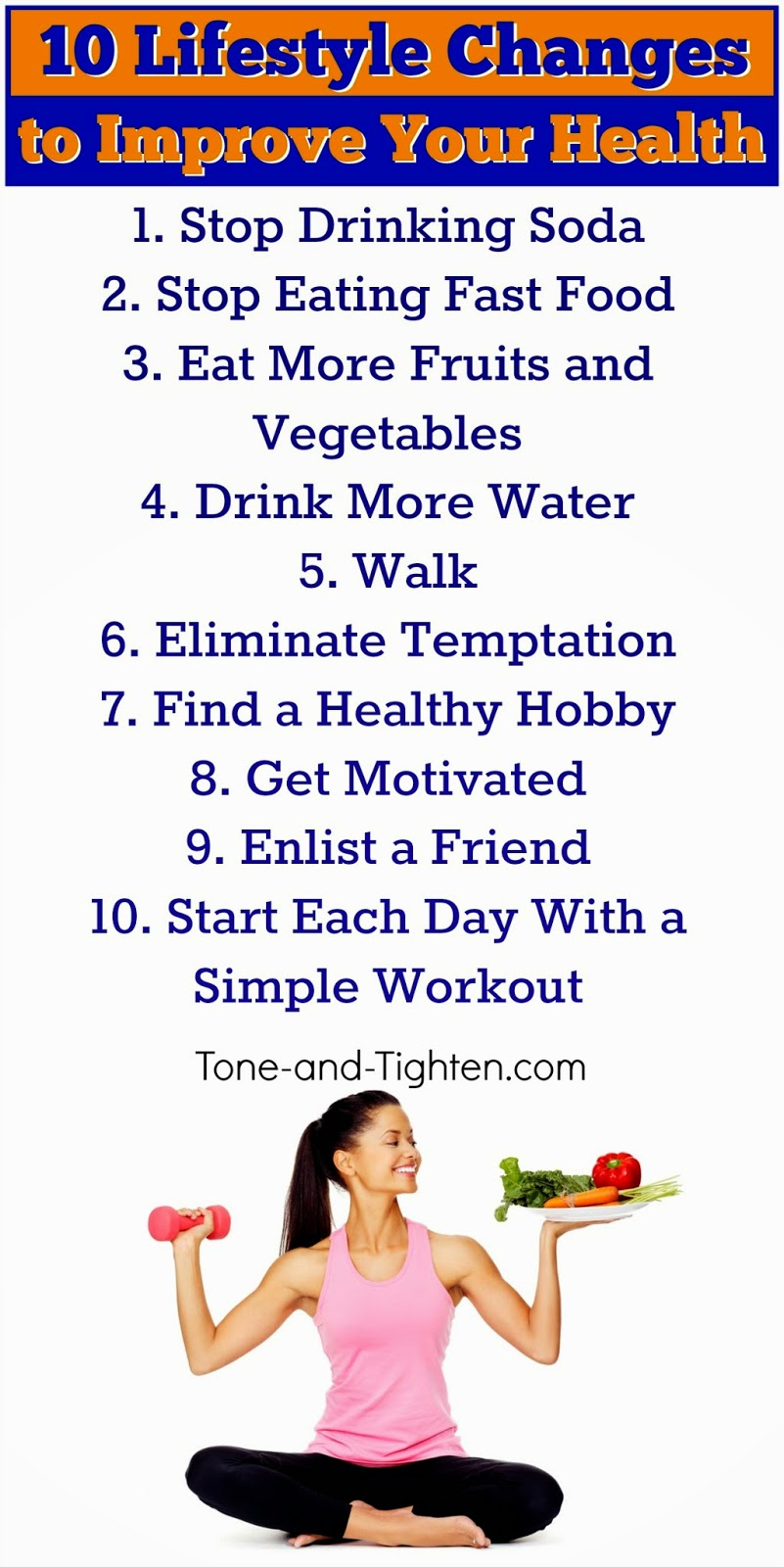 10 easy lifestyle changes to help you improve your health ...