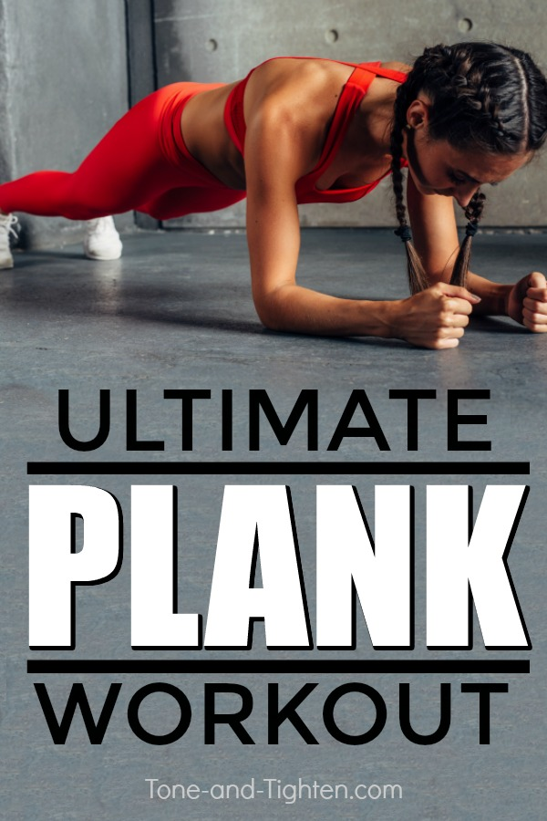 The ultimate plank workout to tone and tighten your abs