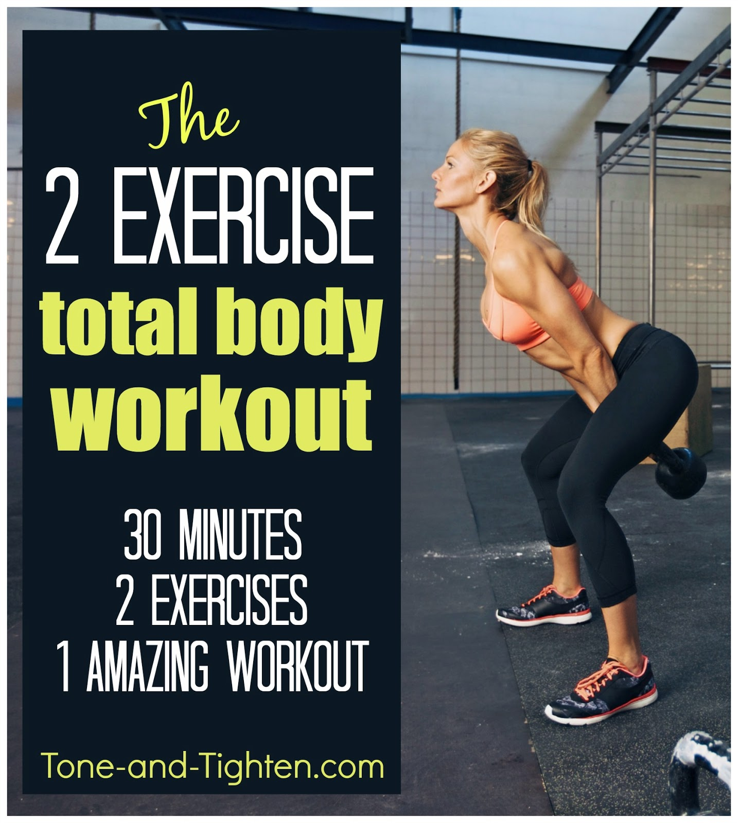 Two exercise workout total body gym workout with only 2 for Gimnasio total