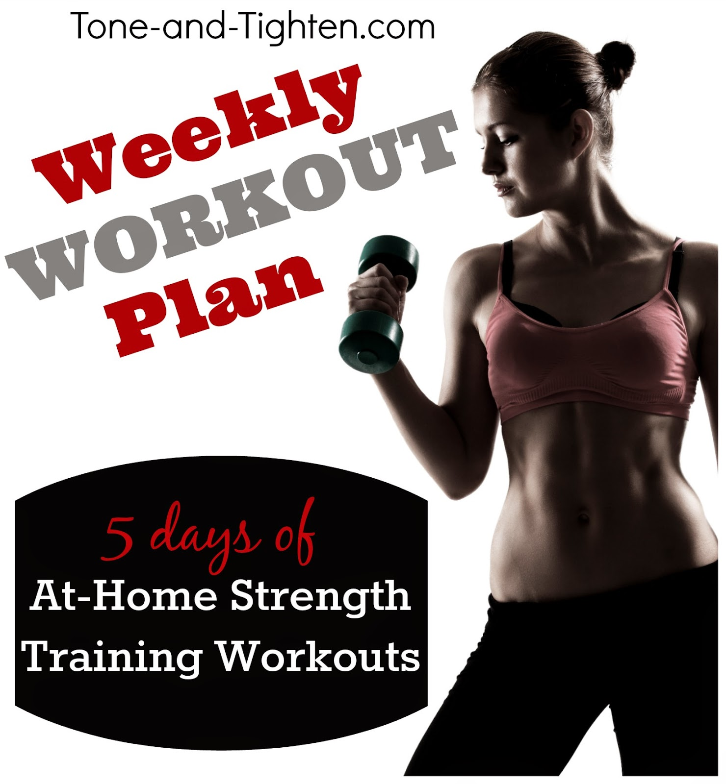 Strength Training: Label/Weekly Workout Plan