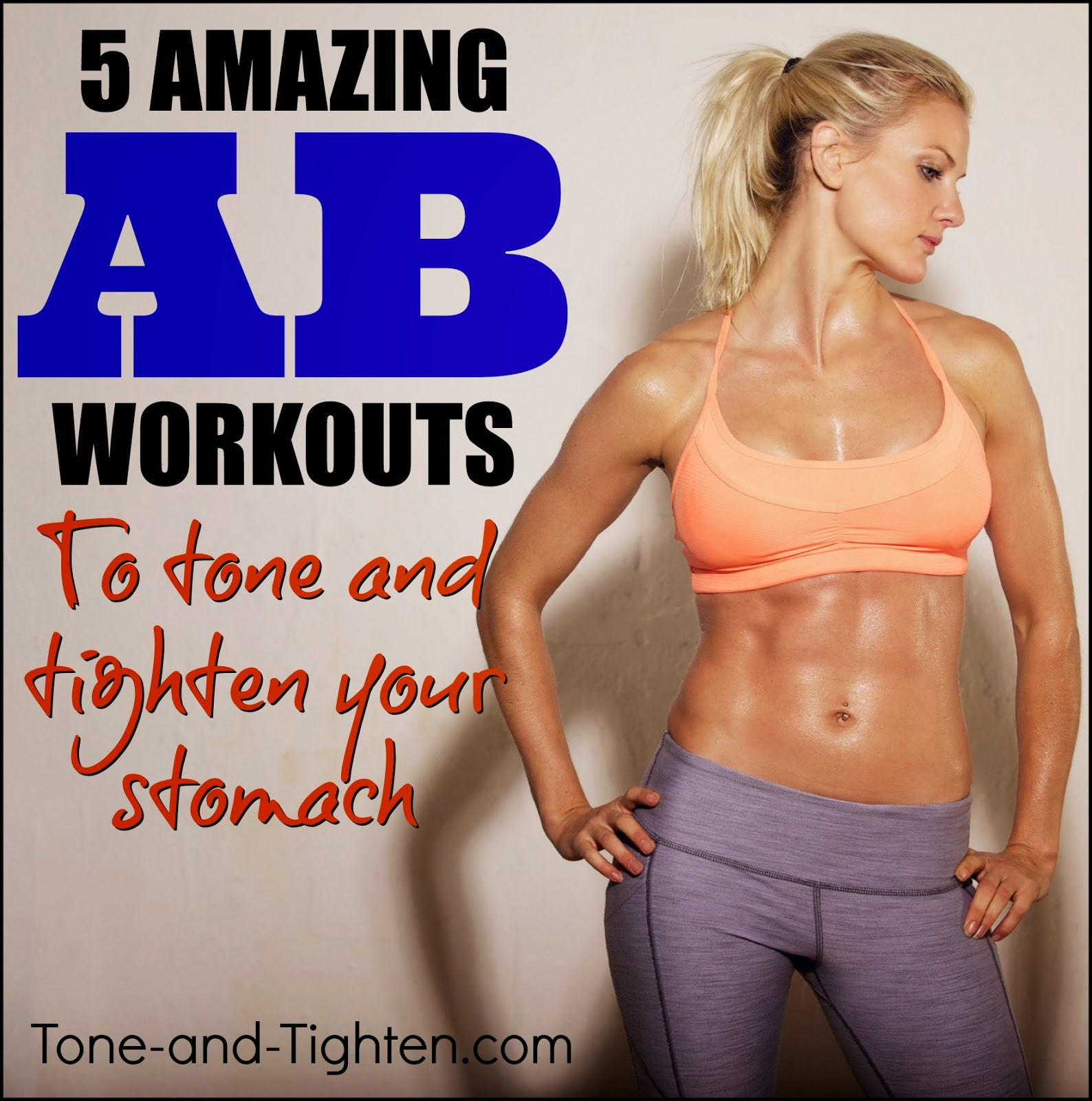 No Crunch Ab Workout Without Crunches Tone And Tighten