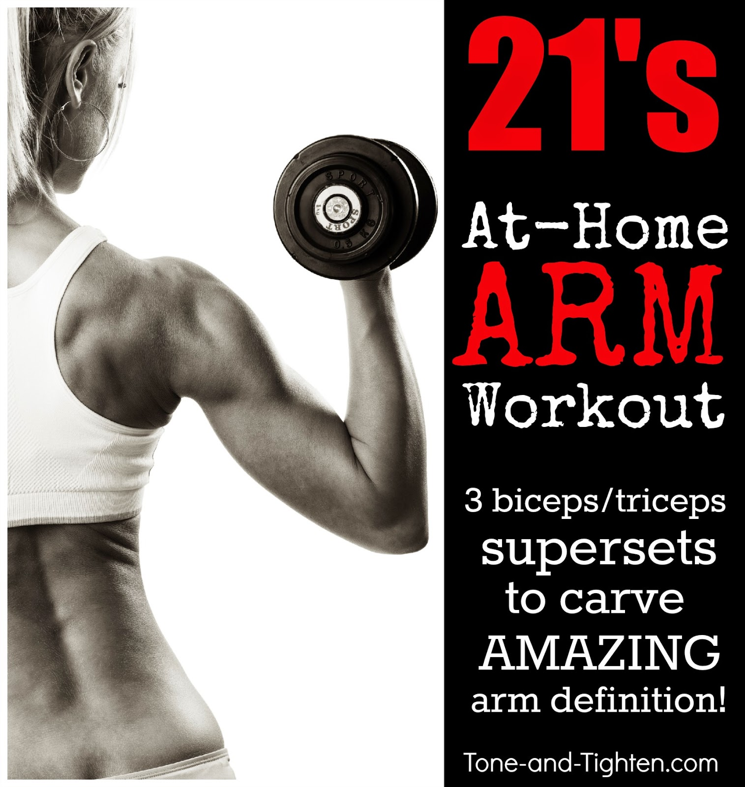 Best At-home Arm Workout With Weights
