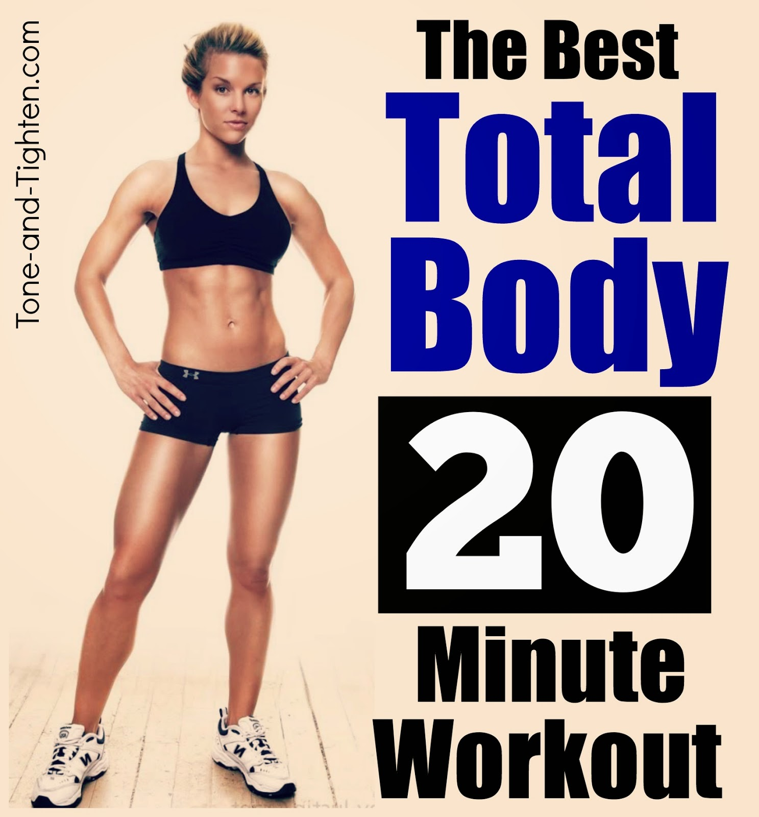 20 Minute Full Body Kettlebell Shred: 25 Best At-Home Workouts - No Equipment