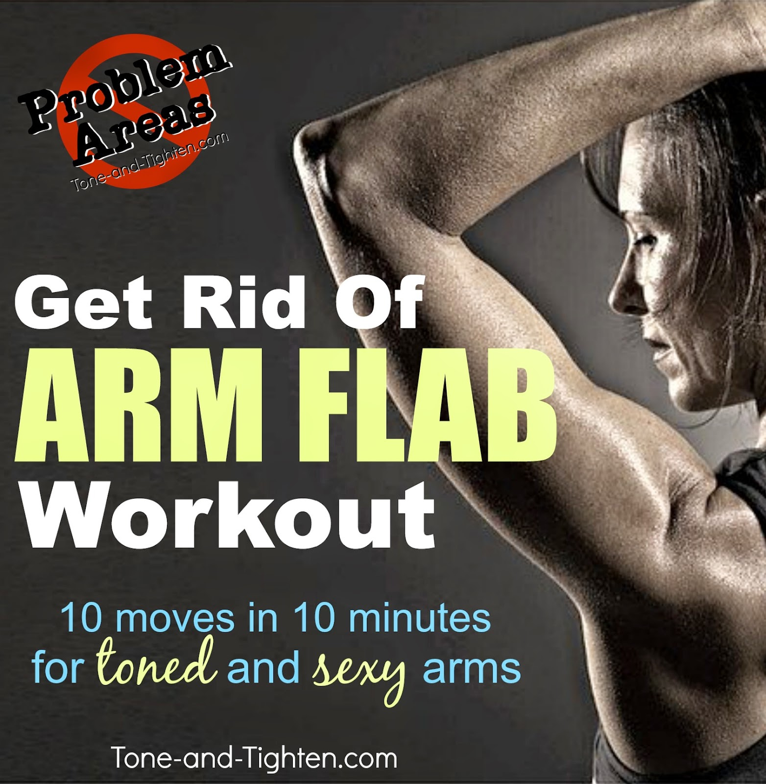 how to lose the flab on your arms