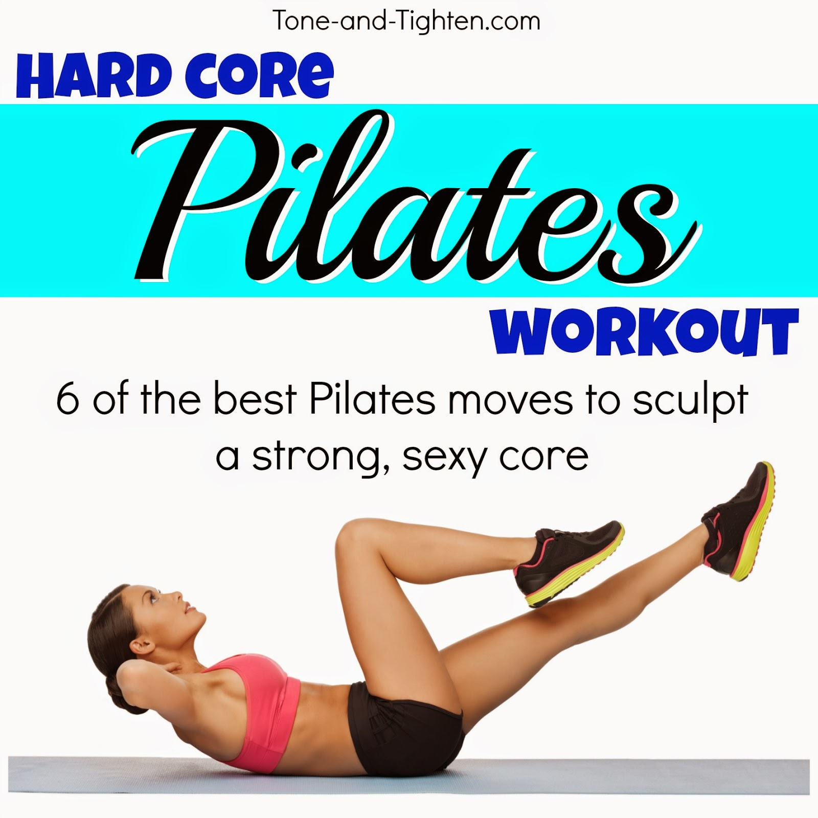 Hard Core Pilates Workout At Home | Tone and Tighten