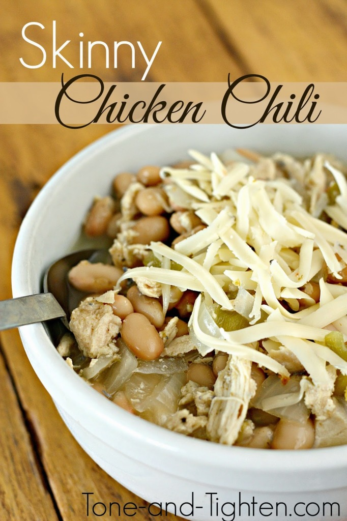 skinny chicken chili