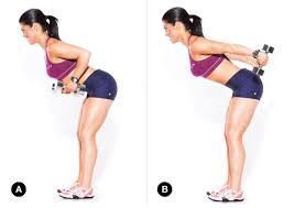 standing triceps kickback