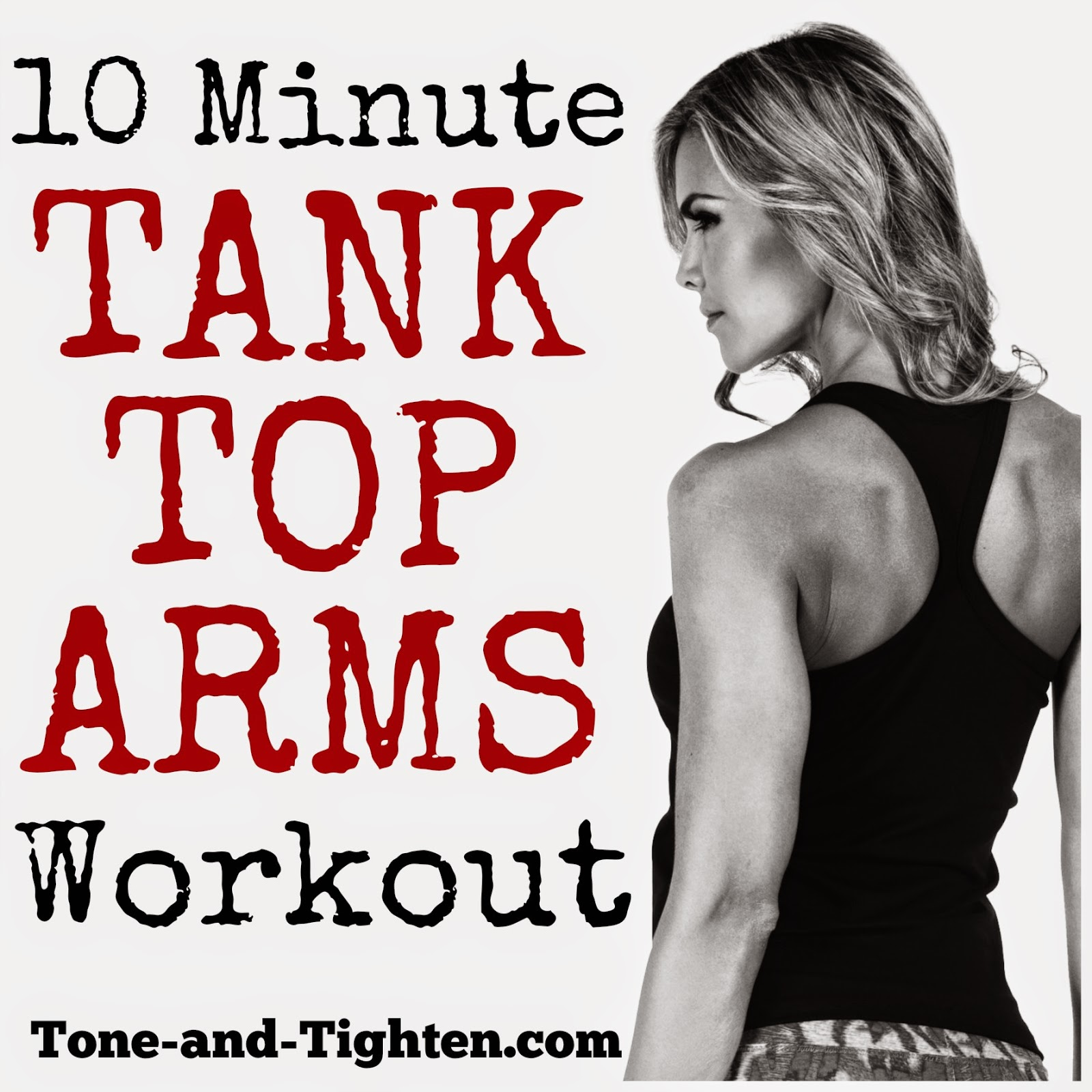 Best at-home arm workout with weights | Tone and Tighten