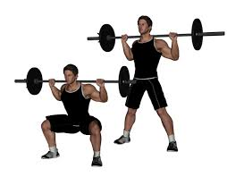 wide squat weighted
