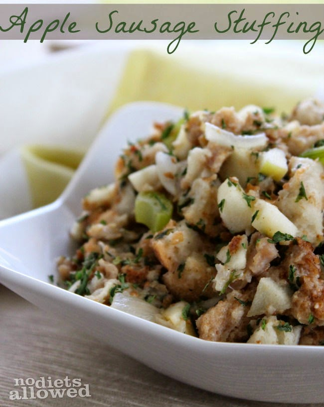 Italian Sausage and Grape Stuffing