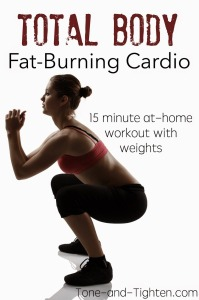Total Body Fat Burning Cardio Workout Tone and Tighten