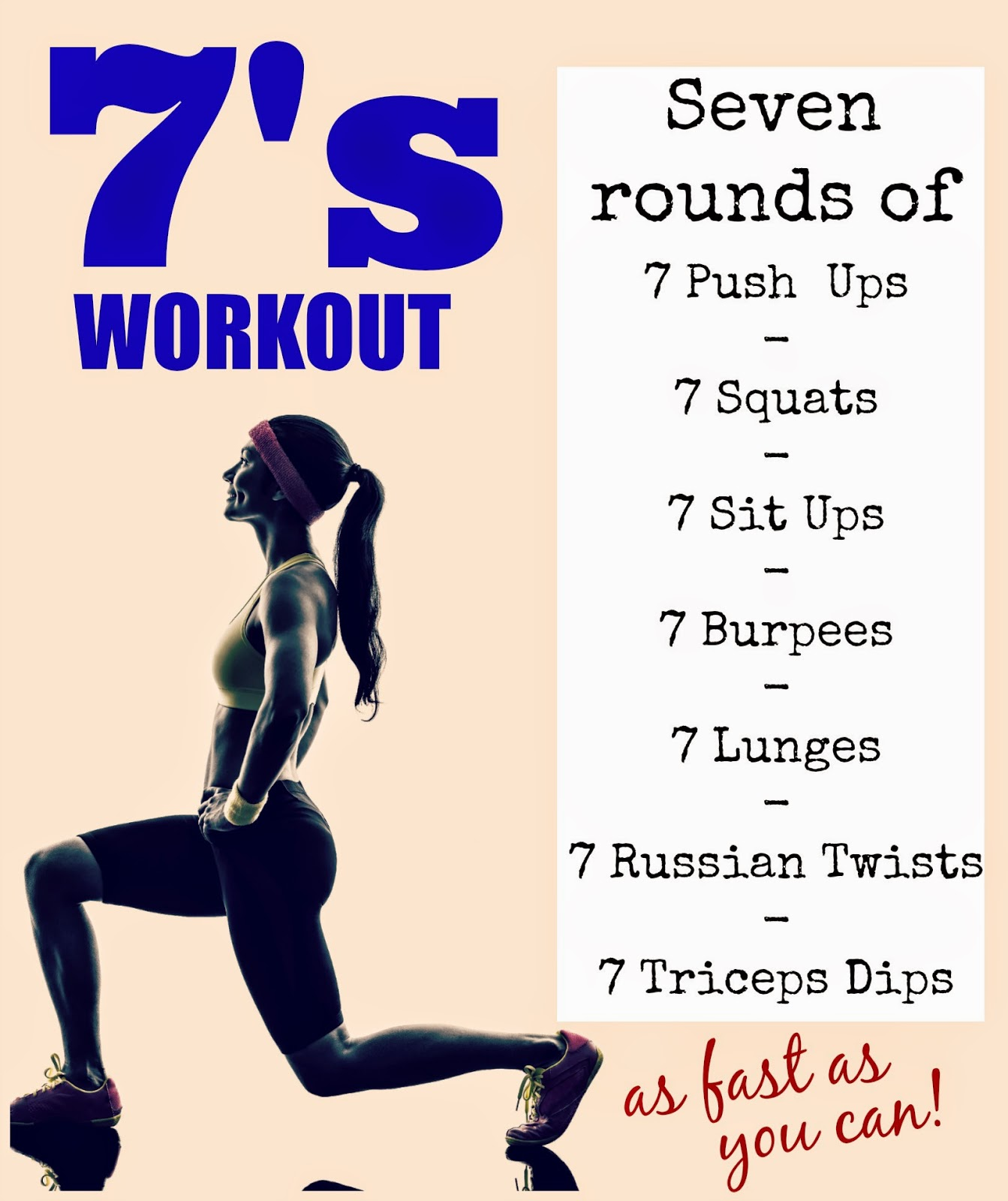 Sevens Workout – Amazing Quick At-Home Workout | Tone and