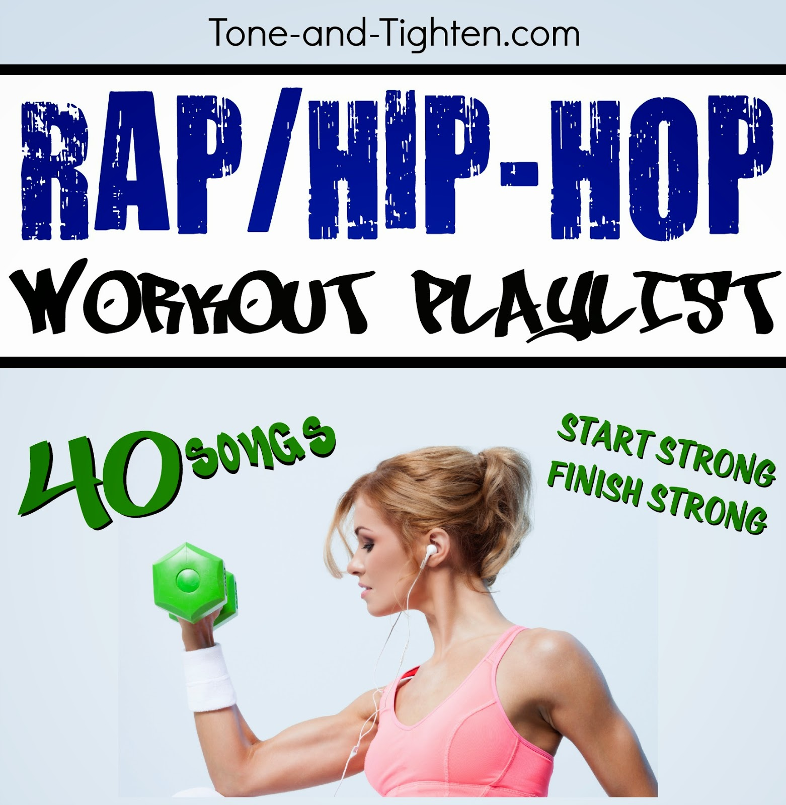 Rap hip hop power workout playlist best songs to exercise workout