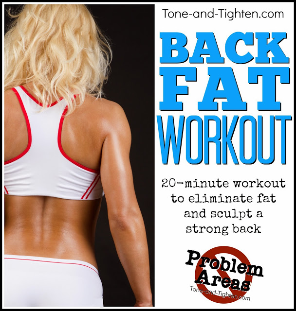 How To Get Rid Of Back Fat Workout Best Exercises