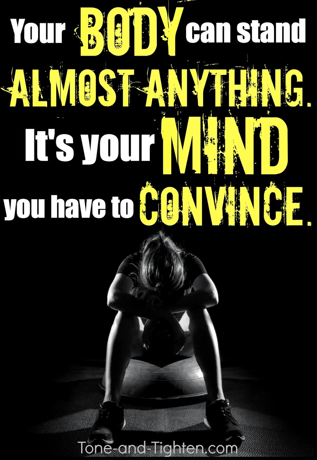 Fitness motivation today is a great day to do something
