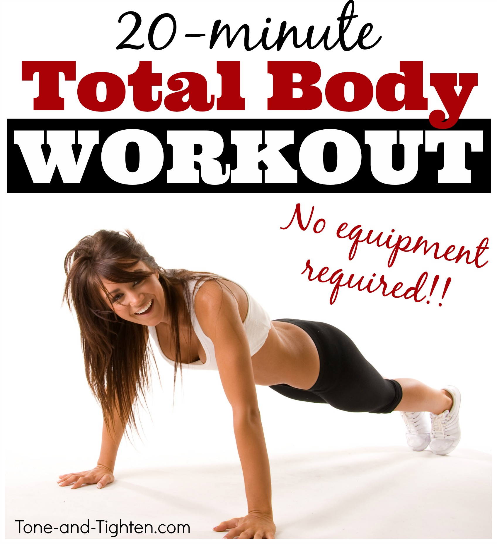 Tone Body: New Year's Day Total Body Workout