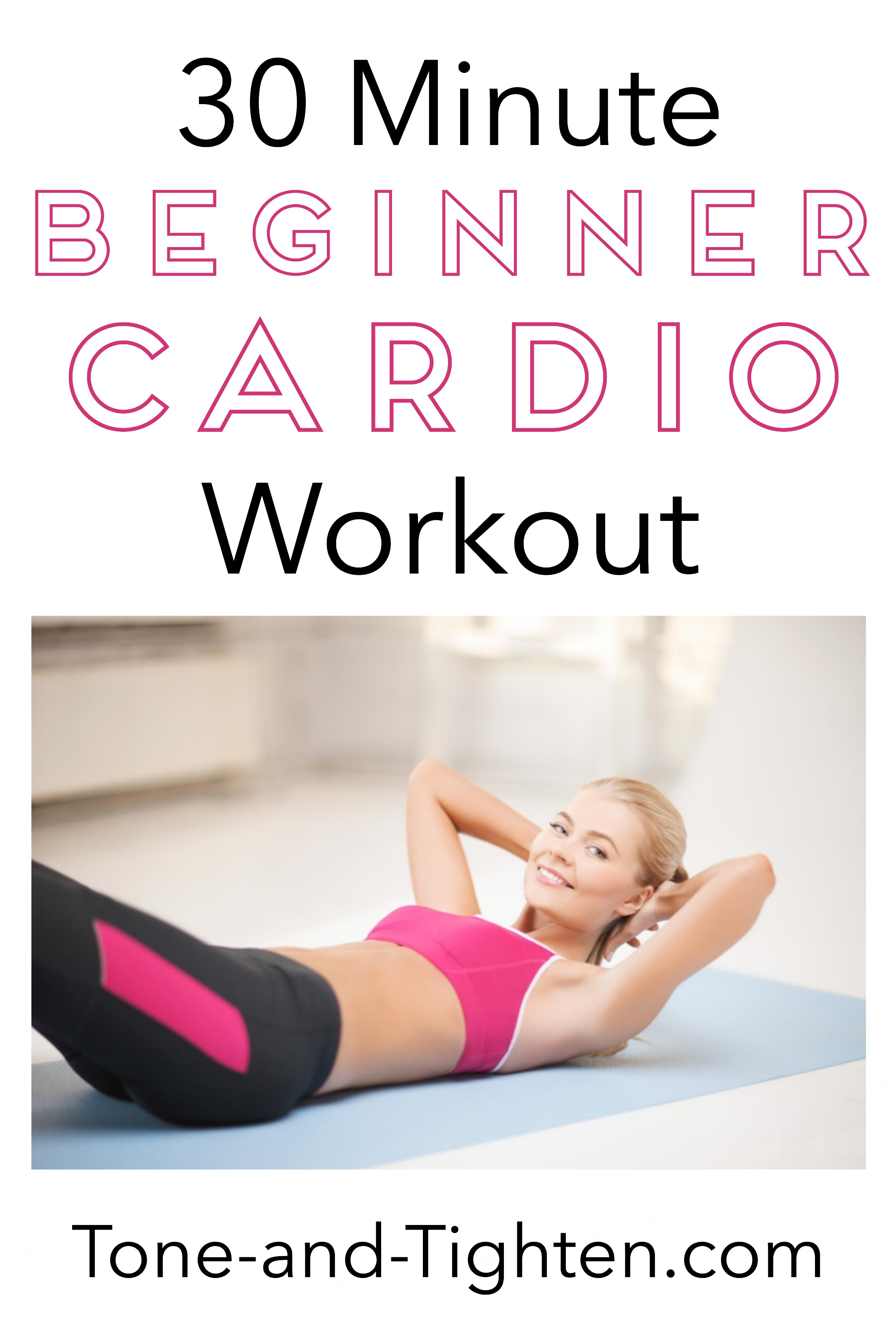 Beginner 30 Minute At Home Cardio Workout