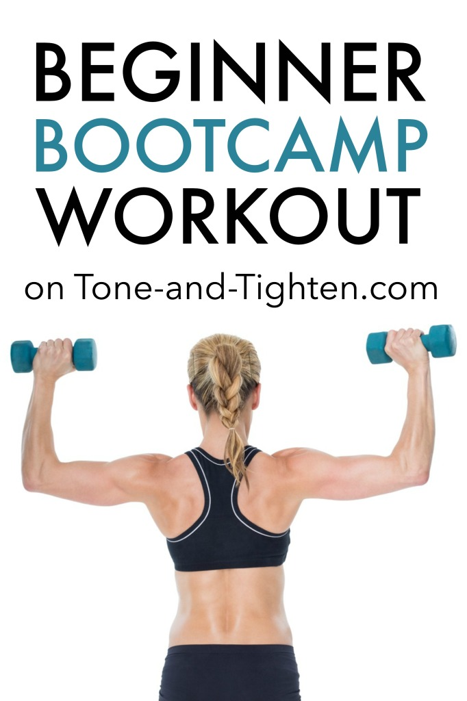 Beginner Bootcamp Workout on Tone-and-Tighten