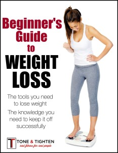 Beginner's Guide To Weight Loss COVER