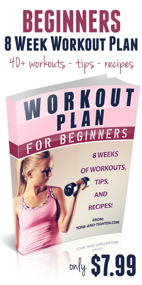 Beginners Workout Plan eBook