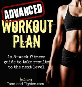 advanced workout plan image
