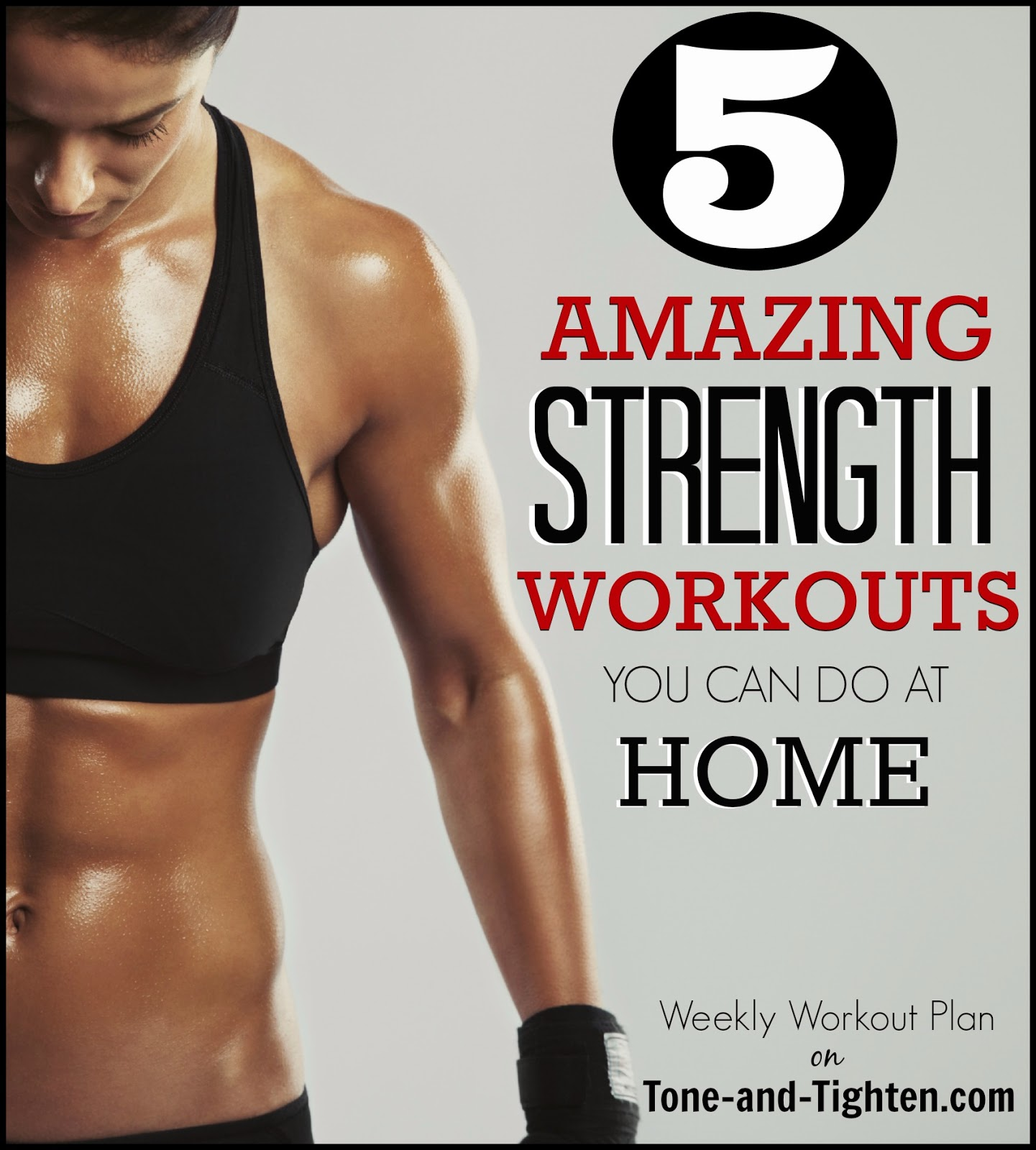 How To Get Stronger At Home 5 Great Workouts