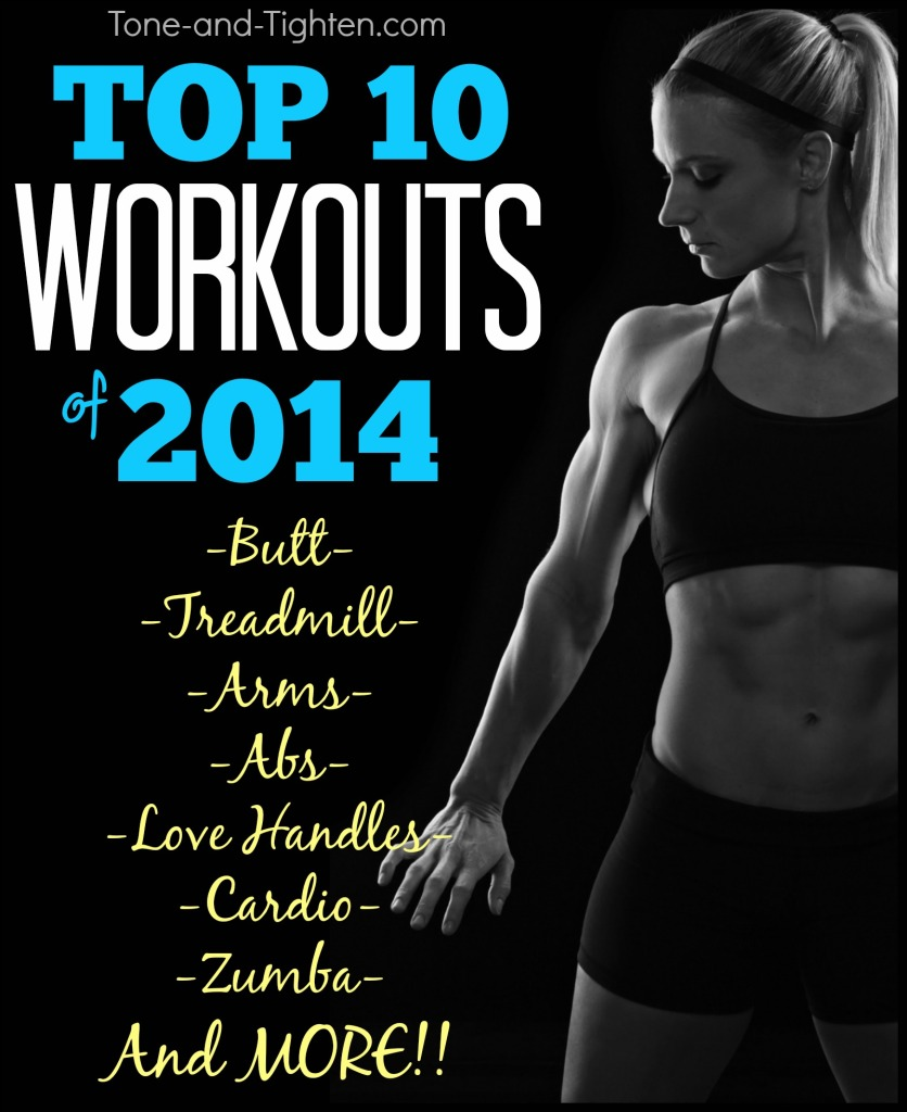 best top ten workouts of 2014 tone and tighten